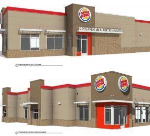 Burger King rendering