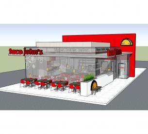 Taco Johns exterior seating